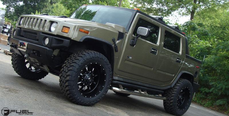 Hummer H2 Krank - D517 Gallery - Fuel Off-Road Wheels