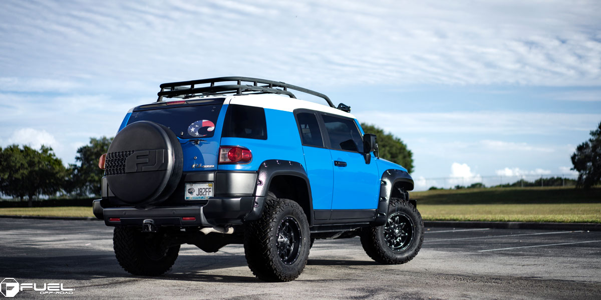Nissan Tires And Rims Toyota FJ Cruiser Hostage - D531 Gallery - Fuel Off-Road Wheels