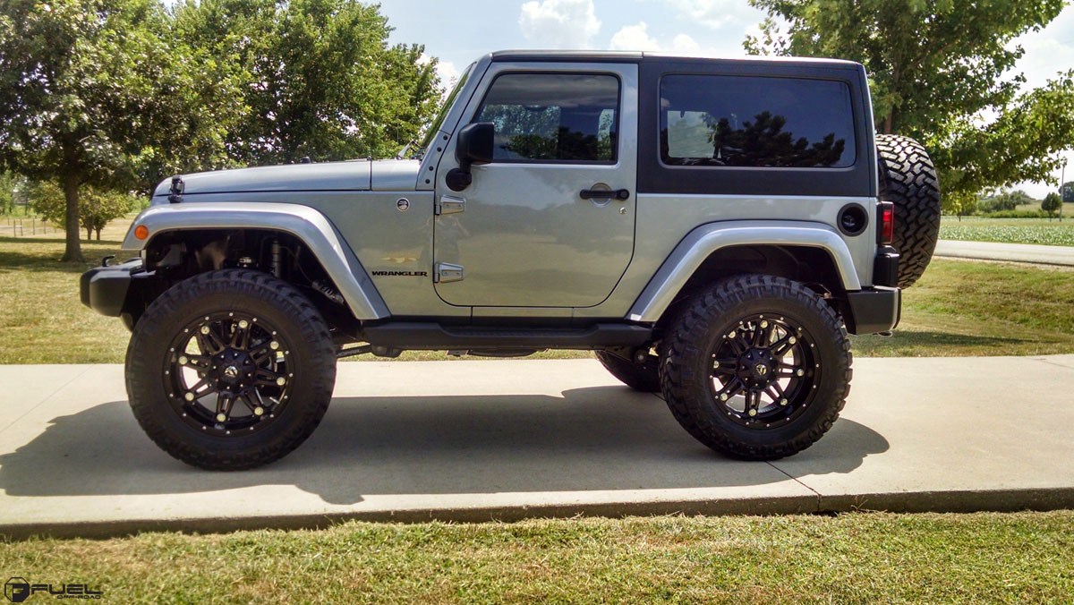 Jeep Wrangler Hostage - D531 Gallery - Fuel Off-Road Wheels