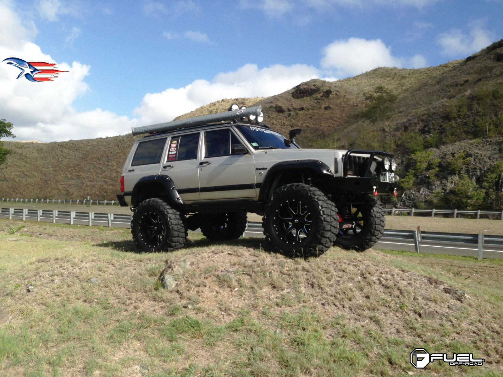 Toyota Dually Truck Jeep Cherokee Maverick - D262 Gallery - Fuel Off-Road Wheels
