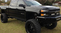 Chevrolet Silverado 2500 HD with Fuel 1-Piece Wheels