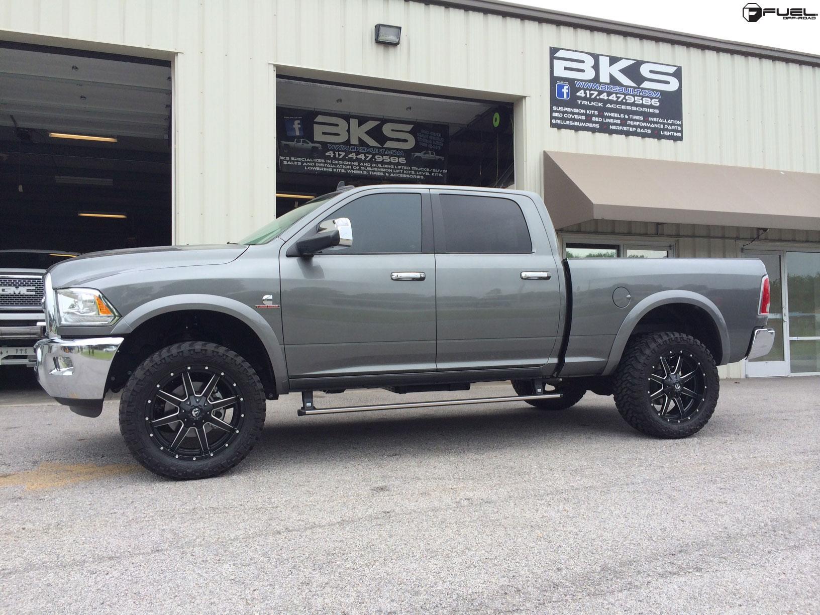 Ram 2500 Fuel Maverick >> Dodge Ram 2500 Maverick - D538 Gallery - Fuel Off-Road Wheels