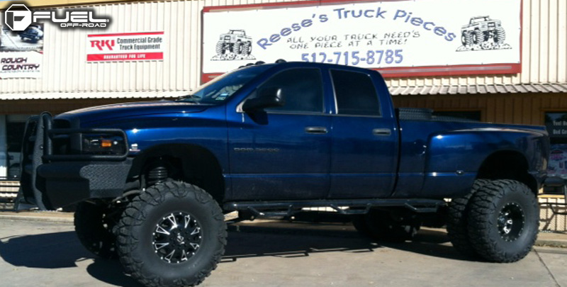 Dodge Ram 3500 Dual Rear Wheel with Fuel Dually Wheels Throttle Dually Front - D513