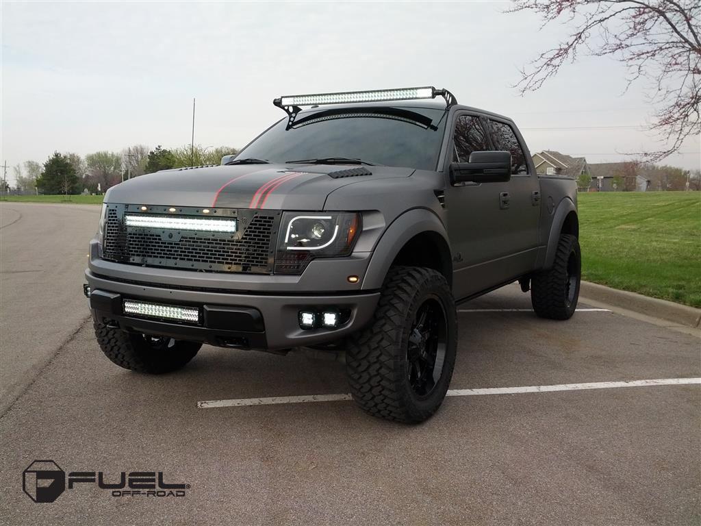 Ford F 150 Raptor Nutz D252 Gallery Fuel Off Road Wheels
