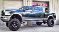 Dodge Ram 2500 with Fuel Deep Lip Wheels