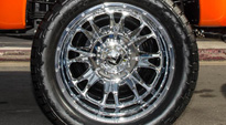 Ford F-350 Dually with Fuel Dually Wheels Throttle Dually Rear - D213