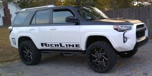 Toyota 4Runner with Fuel 2-Piece Wheels Renegade - D265