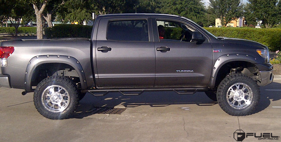 Toyota Tundra with Fuel 1-Piece Wheels Krank - D516