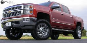 Cleaver - D573 on Chevrolet Silverado 1500