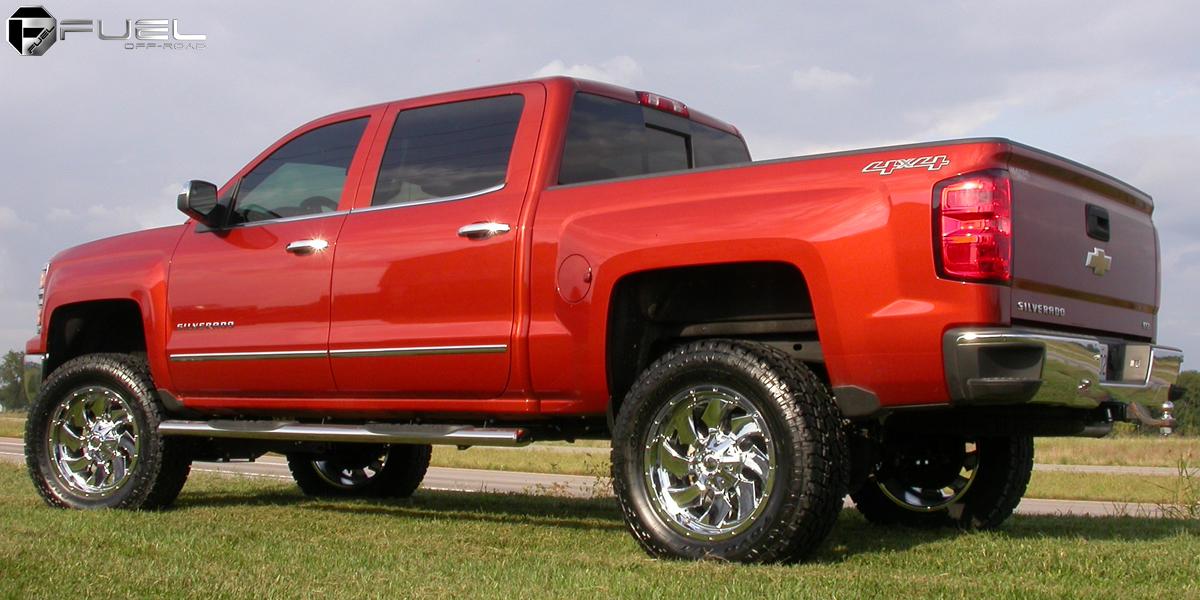 Chevrolet Silverado 1500 Fuel One Piece Cleaver D573 G 17119