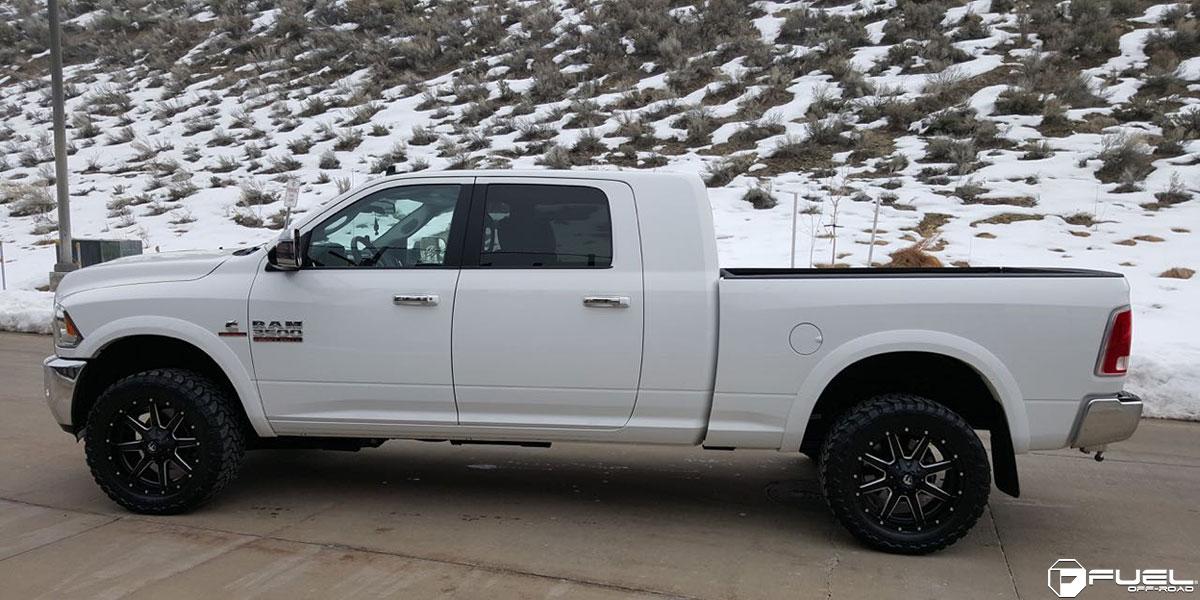 Dodge Ram 3500 Maverick - D538 Gallery - Fuel Off-Road Wheels