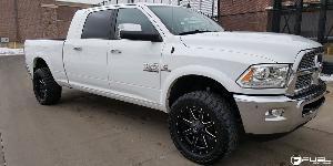 Dodge Ram 3500 with Fuel 1-Piece Wheels Maverick - D538
