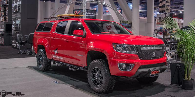 Chevrolet Colorado with Fuel Deep Lip Wheels Hostage - D531
