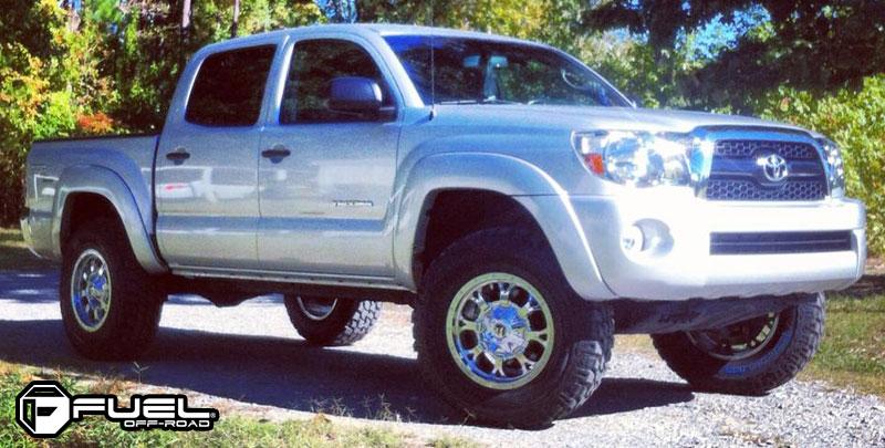 Toyota Tacoma with Fuel Deep Lip Wheels