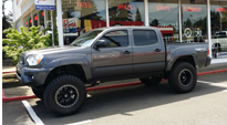 Toyota Tacoma with Fuel 1-Piece Wheels Trophy - D551