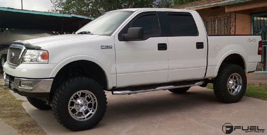 Ford F-150 with Fuel 1-Piece Wheels Krank - D516