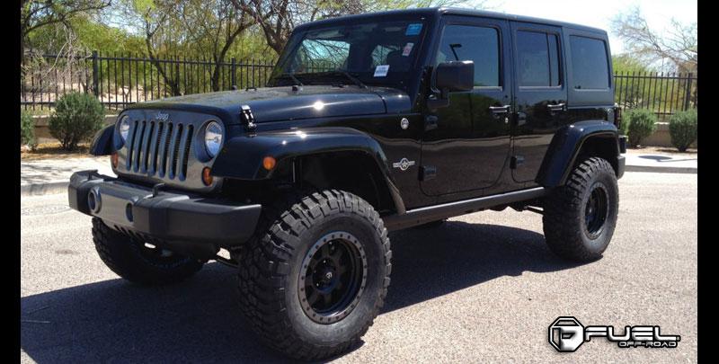 Jeep Wrangler Trophy - D551