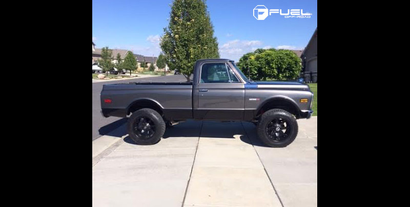 Chevrolet Cheyenne with Fuel 1-Piece Wheels Octane - D509