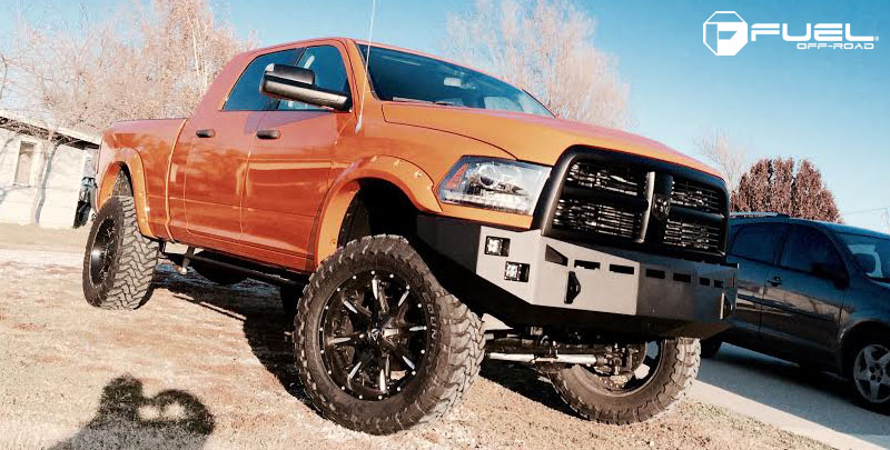 Dodge Ram 2500 with Fuel 2-Piece Wheels