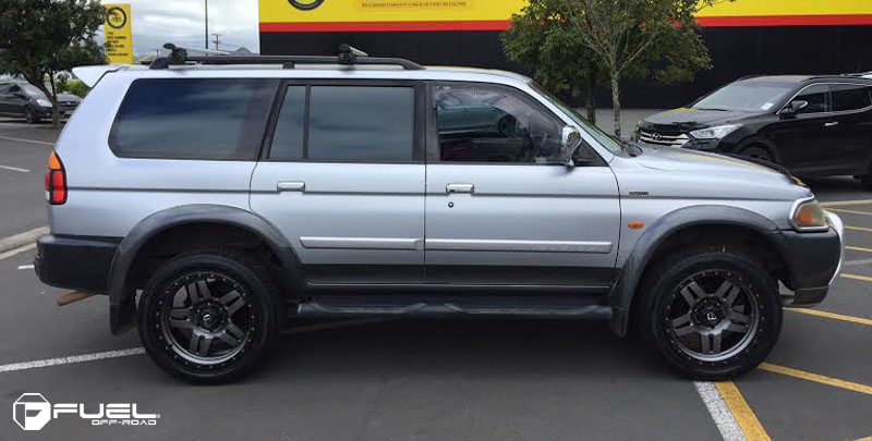 Mitsubishi Challenger with Fuel 1-Piece Wheels