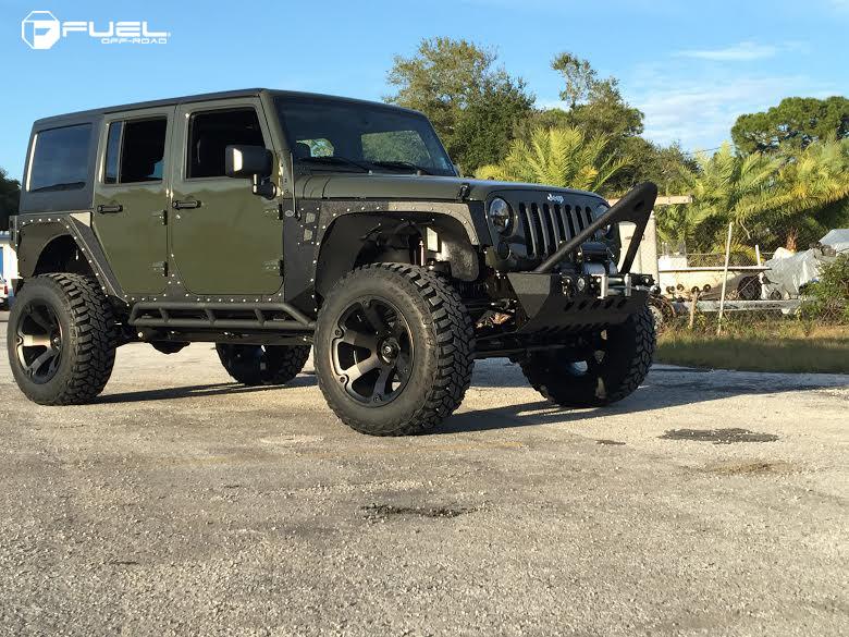 Jeep Wrangler Beast D564 Gallery Fuel Off Road Wheels