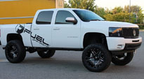 Full Blown - D254 on Chevrolet Silverado