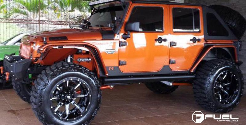 Jeep Wrangler Tires And Rims >> Jeep Wrangler Nutz - D251 Gallery - Fuel Off-Road Wheels