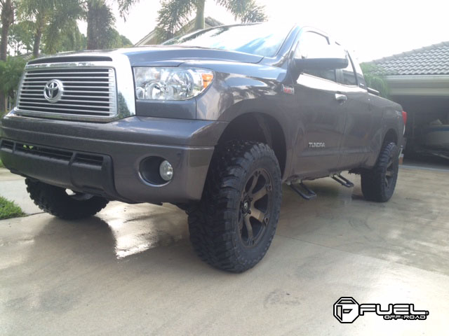 Toyota Tundra Beast - D564 Gallery - Fuel Off-Road Wheels