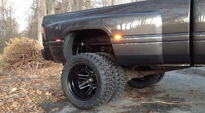 Dodge Ram 3500 Dual Rear Wheel with Fuel Dually Wheels Maverick Dually Front - D538