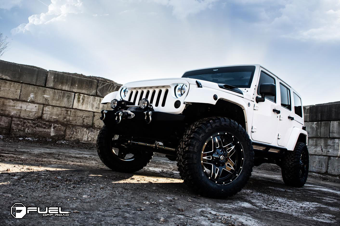 Jeep Wrangler Full Blown - D554 Gallery - Fuel Off-Road Wheels