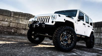 Jeep Wrangler with Fuel 1-Piece Wheels Full Blown - D554