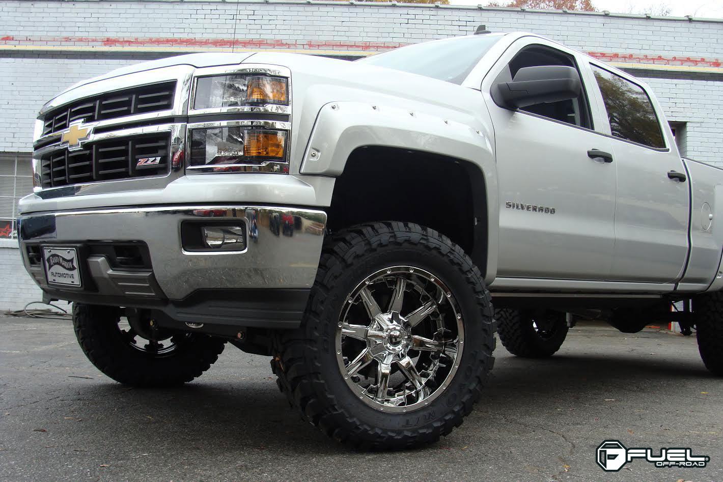 Chevrolet Silverado Nutz - D540 Gallery - Fuel Off-Road Wheels