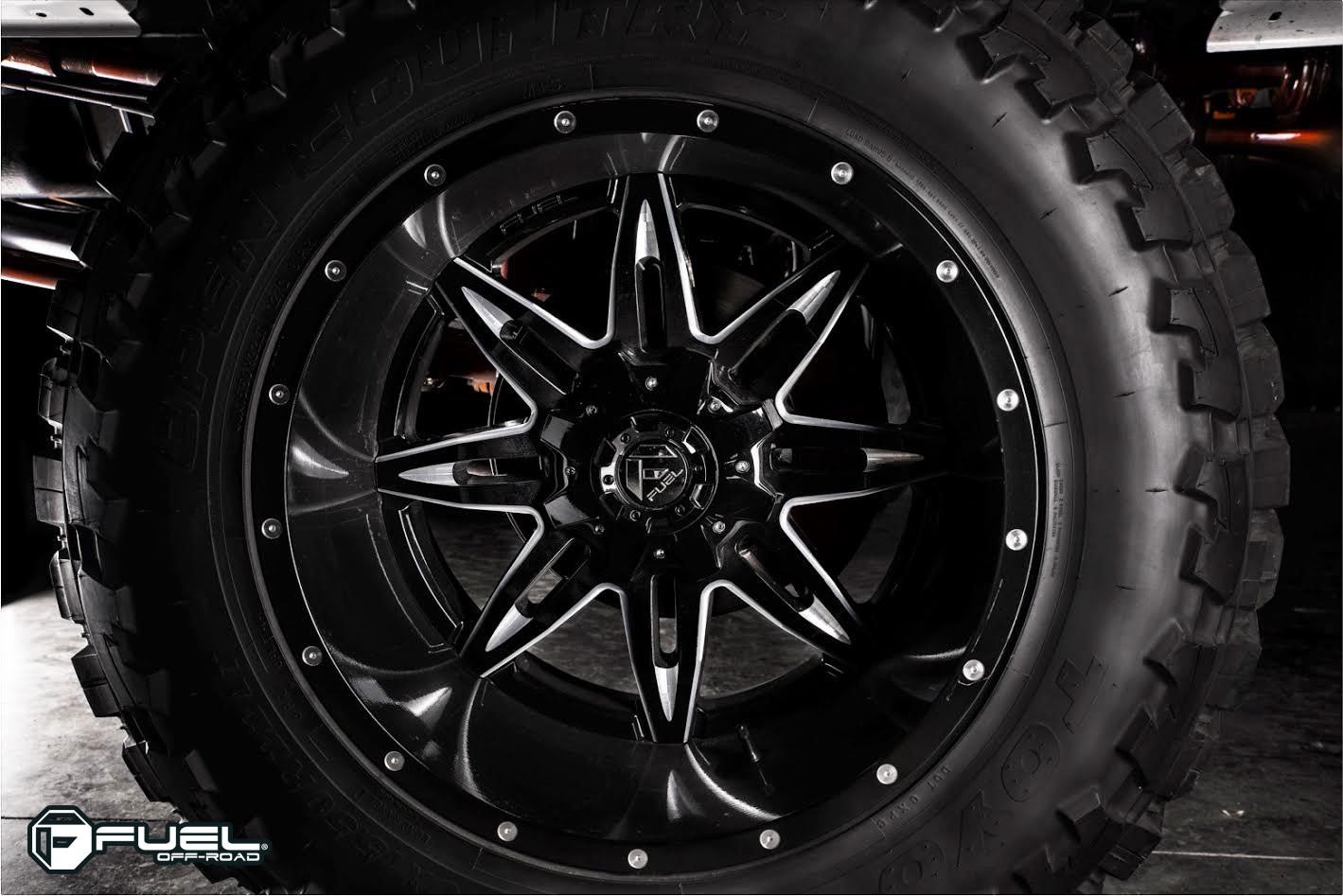 Ford F 350 Lethal D267 Gallery Fuel Off Road Wheels