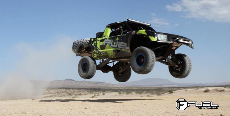 Toyota Tundra Trophy Truck with Fuel 1-Piece Wheels