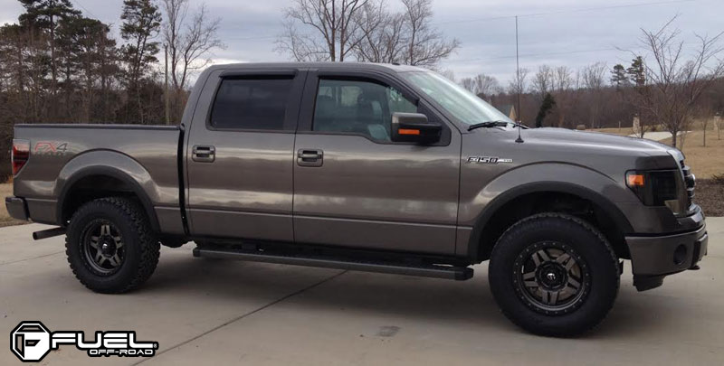 Ford F-150 with Fuel 1-Piece Wheels Anza - D558