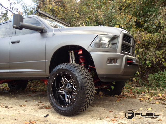 Dodge Ram Full Blown - D254 Gallery - Fuel Off-Road Wheels