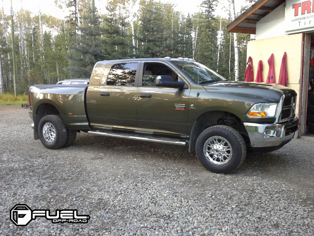 Ram Dually Wheels >> Dodge Ram 3500 Throttle Dually Front D213 Gallery Fuel Off Road