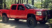 Chevrolet Silverado 1500 with Fuel 1-Piece Wheels