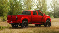 Ford F-250 Super Duty with Fuel 2-Piece Wheels