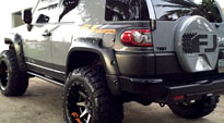 Toyota FJ Cruiser with Fuel 2-Piece Wheels Rampage - D238