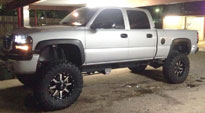 GMC Sierra 1500 with Fuel 1-Piece Wheels