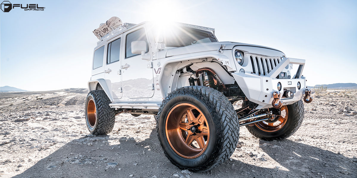 Jeep Wrangler With Fuel Forged Wheels FF15