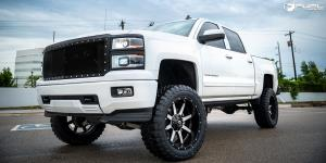 Chevrolet Silverado 1500 with Fuel Deep Lip Wheels Maverick - D537