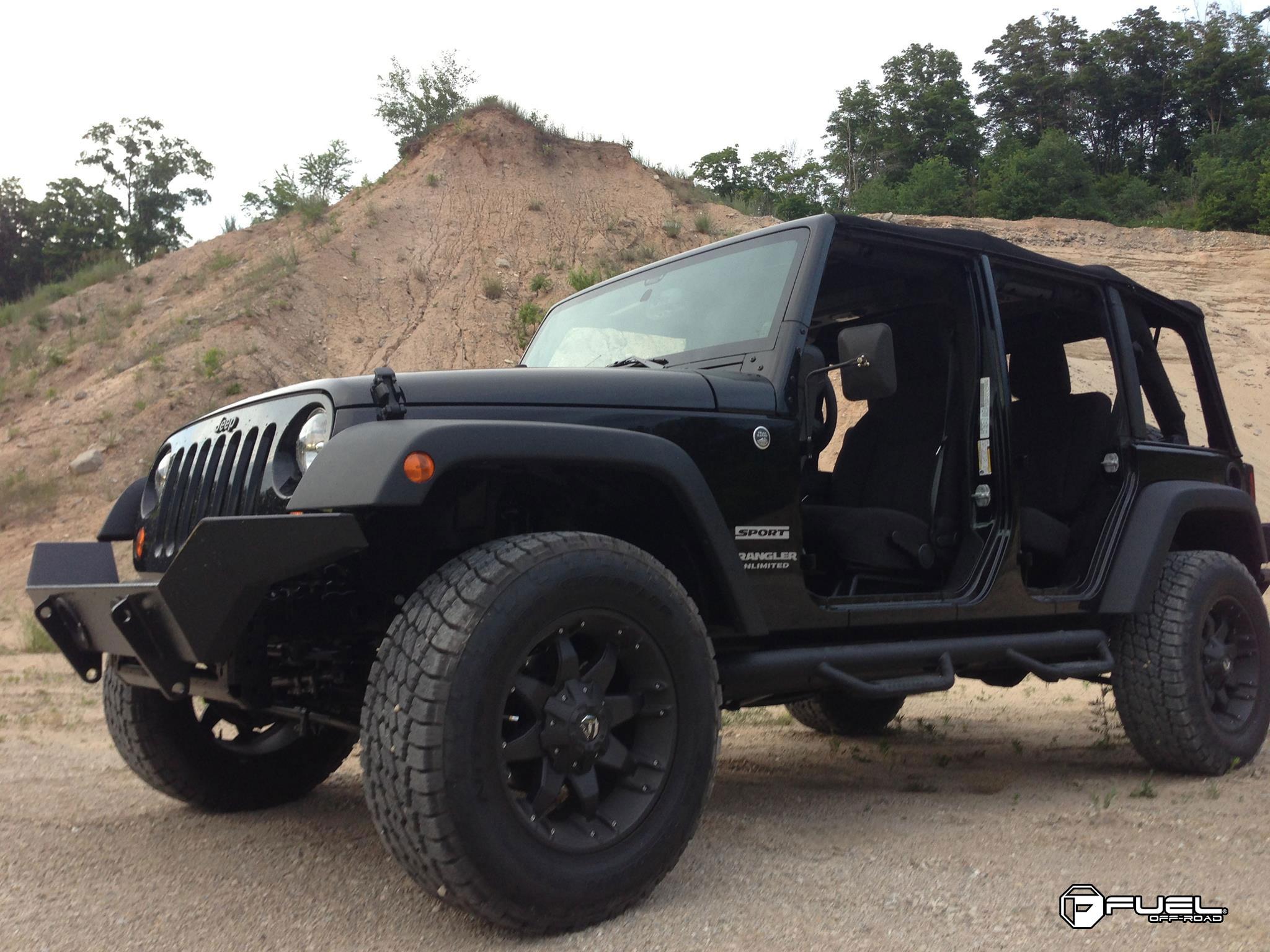 jeep wrangler octane d509 gallery fuel off road wheels. Black Bedroom Furniture Sets. Home Design Ideas