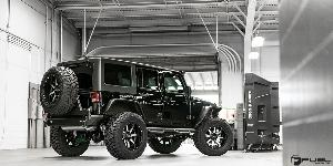 Jeep Wrangler with Fuel 1-Piece Wheels Maverick - D537