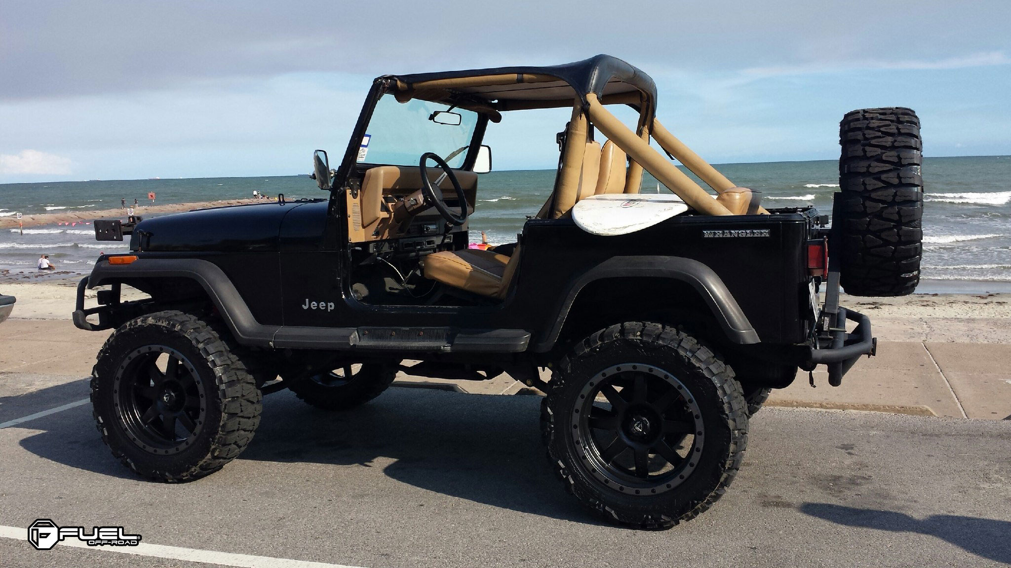 Jeep Wrangler Trophy D551 Gallery Fuel Off Road Wheels With
