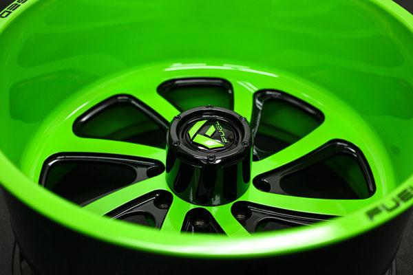 FF12 | Green w/ Black Windows