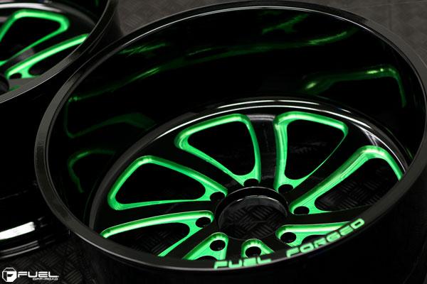 FF12 | Candy Green Tint Windows