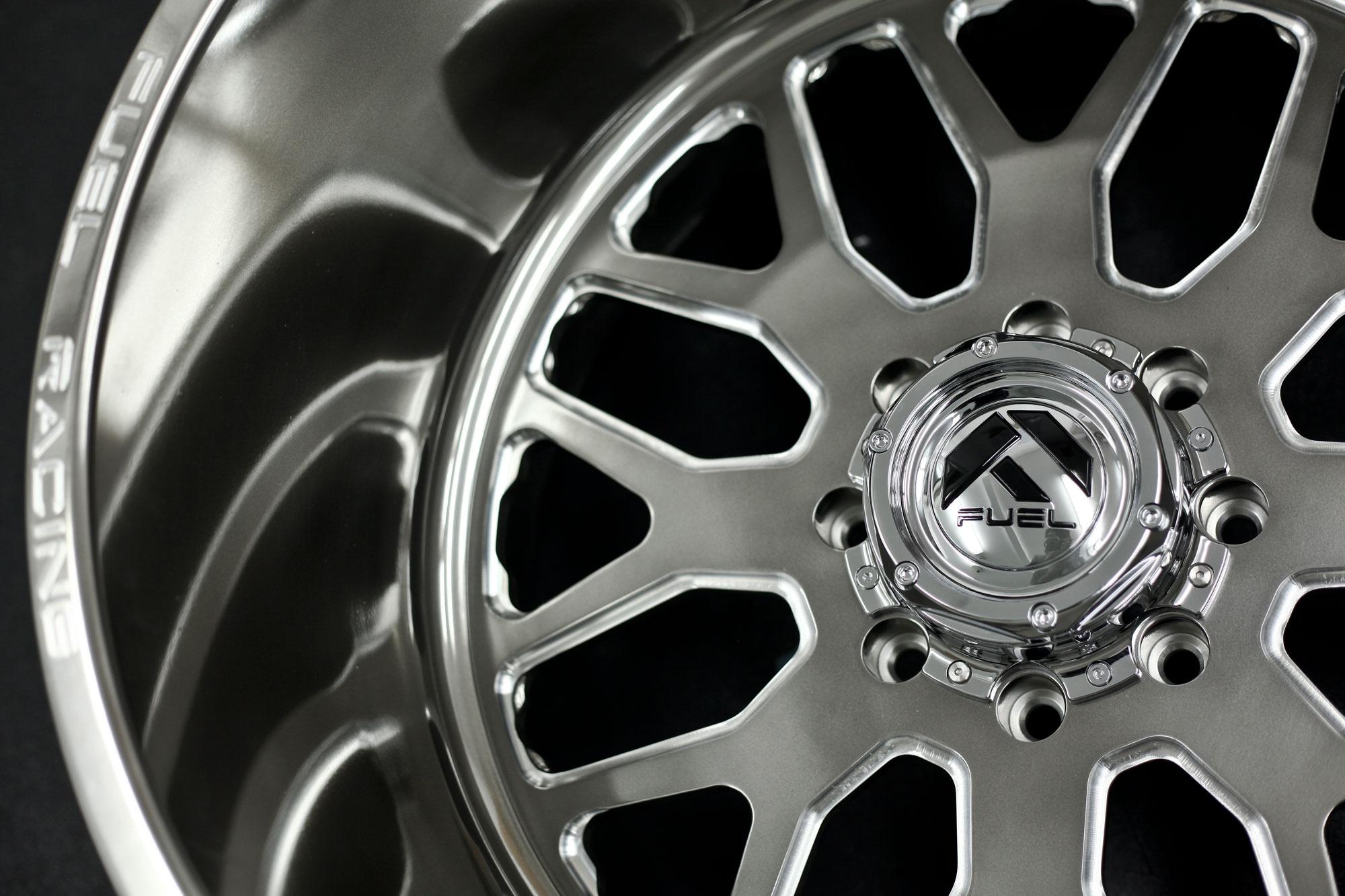 Ff19 Polished W Ddt Gloss Clear Fuel Off Road Wheels
