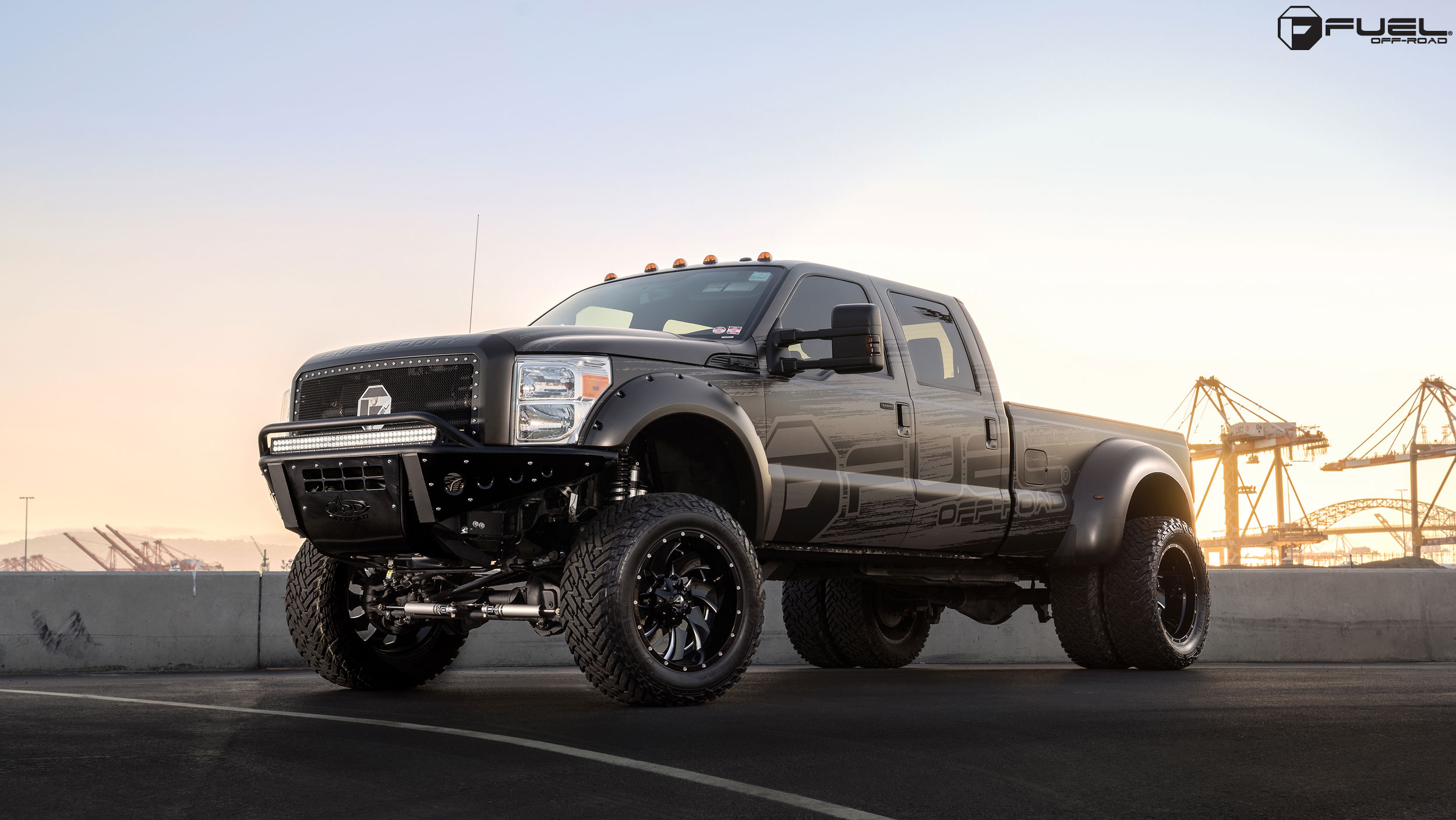 New Fuel Cleaver Forged 2-pc. Dually - Fuel Off-Road Wheels
